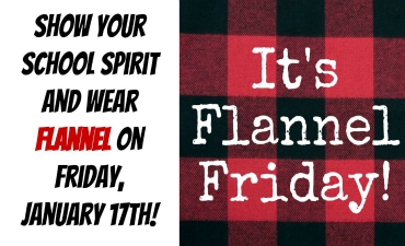 Friday is Flannel Day!